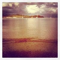 Photo taken at Spiaggia Bagnaia by Markus K. on 9/3/2012