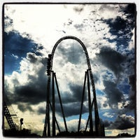 Photo taken at Thorpe Park by Miguel G. on 8/25/2012
