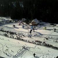 Photo taken at Hotel Bukovina by Kuba B. on 2/12/2012