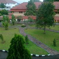 Photo taken at Pusdiklat Anggaran dan Perbendaharaan by Chanri C. on 5/4/2012