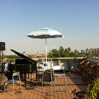 Photo taken at Terrasse - Ubisoft Montreal by Claude A. on 8/25/2012