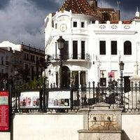 Photo taken at Teatro Sierra de Aracena by Eraser H. on 3/31/2012
