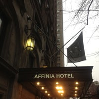 Photo taken at Shelburne NYC, an Affinia Hotel by Greg B. on 2/16/2012
