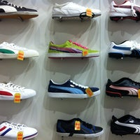 Photo taken at Puma Store by Praveen on 6/7/2012
