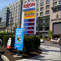 Photo taken at Exxon by John N. on 4/14/2012