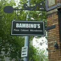 Photo taken at Bambinos Pizzeria by Beer J. on 6/13/2012