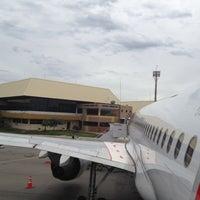 Photo taken at Aeroporto de Caldas Novas (CLV) by Simone S. on 5/13/2012