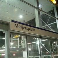 Photo taken at Metrostation Meijersplein by Debora d. on 9/5/2012