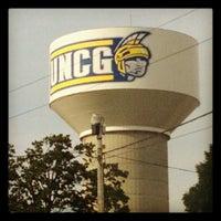 Photo taken at University of North Carolina at Greensboro by Tiffany W. on 8/22/2012