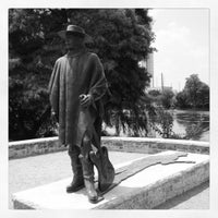 Photo taken at Stevie Ray Vaughan Statue by Brian 😜 C. on 6/27/2012