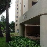 Photo taken at Prestige Condominium - Thana City by Maem-Pemika C. on 7/22/2012