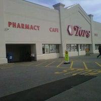 Photo taken at Tops Friendly Markets by Adam Robert B. on 3/19/2012