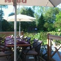 Photo taken at Restaurant 's Gravenmolen by Stéphane H. on 5/25/2012