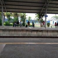 Photo taken at KTM Line - Bandar Tasik Selatan Station (KB04) by Fatah Si Pano ™ on 5/5/2012