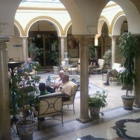 Photo taken at Hotel Tryp Sevilla Macarena by Kris on 2/21/2012
