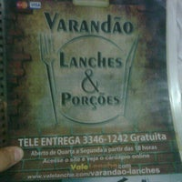 Photo taken at Varandão Lanches by Áureo S. on 6/16/2012