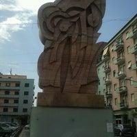 Photo taken at Piazza Carlo Bilotti (Ex Piazza Luigi Fera) by Gianluigi F. on 8/13/2012