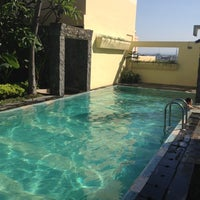 Photo taken at Ibis's Privat Pool by Lily H. on 7/5/2012
