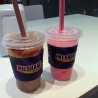 Photo taken at MilShakes by Mariana R. on 3/7/2012