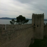 Photo taken at La Rocca Medievale by Claudia P. on 4/29/2012