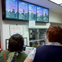 Photo taken at Loeb's New York Deli by Bill W. on 9/11/2012