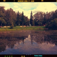 Foto tirada no(a) Лианозовский ПКиО por Tanya em 9/11/2012