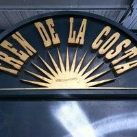 Photo taken at Estación Maipú [Línea Tren de la Costa] by Luiz Paulo B. on 2/18/2012