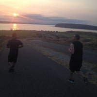 Photo taken at Chambers Bay Golf Course by Tommy T. on 8/11/2012