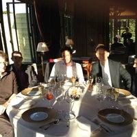Photo taken at Pavillon Ledoyen by Patrick A. on 6/21/2012