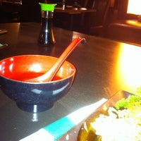 Photo taken at Sushi Hat by Thomas F. on 5/22/2012