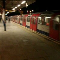 Photo taken at South Woodford London Underground Station by Darren C. on 5/12/2012
