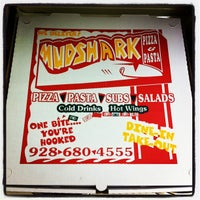 Photo taken at Mudshark Pizza & Pasta by Adam S. on 7/29/2012