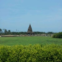 Photo taken at Shore Temple by Tamilnambi D. on 4/29/2012