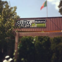 Photo taken at City Cafe Bakery by Joy O. on 7/16/2012