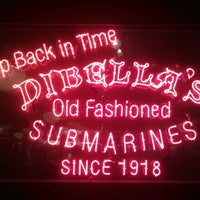 Photo taken at DiBella's Old Fashioned Submarines by D'Andre F. on 3/26/2012
