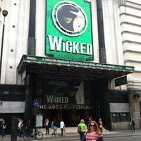 Photo taken at Apollo Victoria Theatre by Brandon S. on 7/21/2012