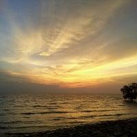 Photo taken at Pontian Sea Side by Aminuddin O. on 5/15/2012
