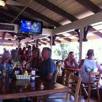 Photo taken at Captain Jack's Island Grill by Lauren E. on 5/16/2012