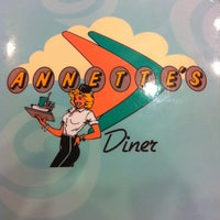 Photo taken at Annette's Diner by Florian on 7/10/2012