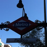 Photo taken at Metro Pacífico by Quique L. on 8/6/2012