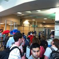 Photo taken at TSA Security by Chris C. on 4/26/2012