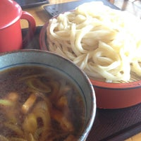 Photo taken at 手打ちうどん ゆでたて家 by luidaddy on 2/18/2012