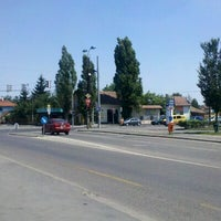 Photo taken at Béke tér by Laszlo C. on 6/17/2012