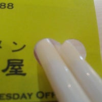 Photo taken at Jyuban Ramen House 十番拉麵屋 by Alice Y. on 7/27/2012