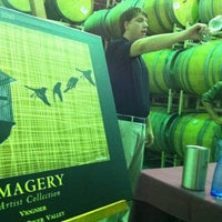 Photo taken at Imagery Estate Winery by Larry Chiang C. on 7/17/2012