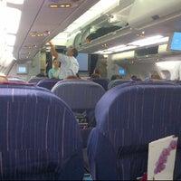 Photo taken at TG639 HKG-BKK / Thai Airways by Abundance Investment Corp. S. on 5/31/2012