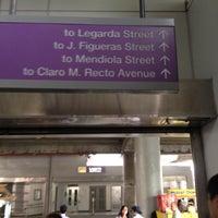 Foto tirada no(a) LRT 2 (Legarda Station) por Cathy D. em 5/16/2012