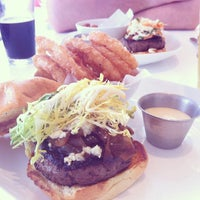 Photo taken at FLIP Burger Boutique by Jessica W. on 7/8/2012