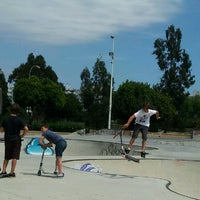 Photo taken at Skate Park Fuengirola by Ro on 8/31/2012