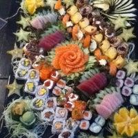 Photo taken at Tomodachi Sushi by Helida O. on 5/1/2012